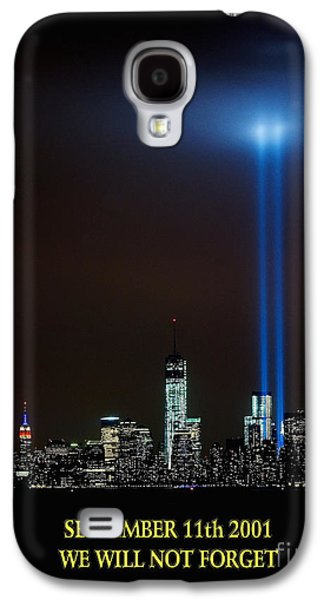 Wtc 11 Galaxy S4 Cases - 9/11 Tribute Galaxy S4 Case by Nick Zelinsky