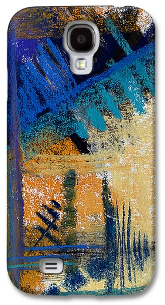 Contemporary Abstract Pastels Galaxy S4 Cases - Failing of the Pines #9 Galaxy S4 Case by Tracy L Teeter