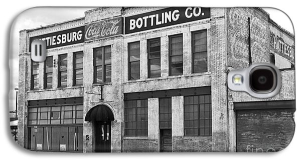 Hattiesburg Galaxy S4 Cases - Coca Cola sign on the side of a brick building in Hattiesburg Mi Galaxy S4 Case by ELITE IMAGE photography By Chad McDermott
