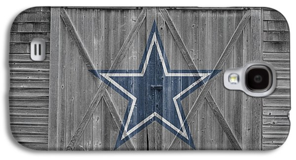 Barn Doors Galaxy S4 Cases - Dallas Cowboys Galaxy S4 Case by Joe Hamilton
