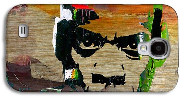 Jay Z Galaxy S4 Case by Marvin Blaine