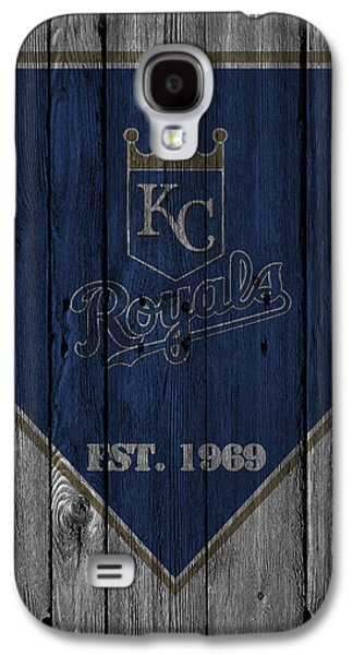 Barn Doors Galaxy S4 Cases - Kansas City Royals Galaxy S4 Case by Joe Hamilton