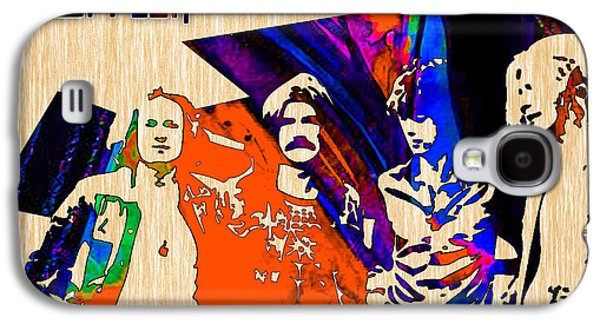 Wall Galaxy S4 Cases - Led Zeppelin Galaxy S4 Case by Marvin Blaine