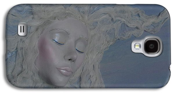 Girl Sculptures Galaxy S4 Cases - Live In The Moments For The Moments are All Weve Got Galaxy S4 Case by Christine Cholowsky