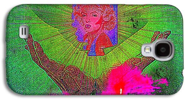 Etc. Digital Art Galaxy S4 Cases - Marilyn  Galaxy S4 Case by HollyWood Creation By linda zanini