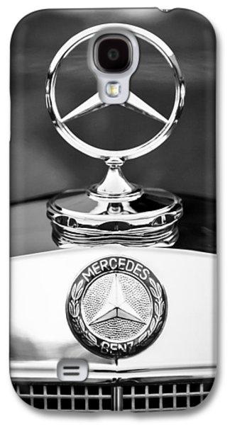 Hood Ornament Photographs Galaxy S4 Cases - Mercedes-Benz Hood Ornament Galaxy S4 Case by Jill Reger