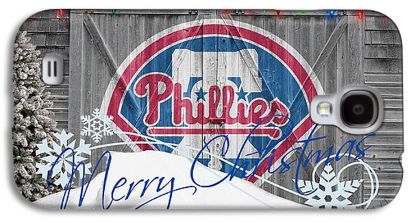 Phillies Galaxy S4 Cases - Philadelphia Phillies Galaxy S4 Case by Joe Hamilton