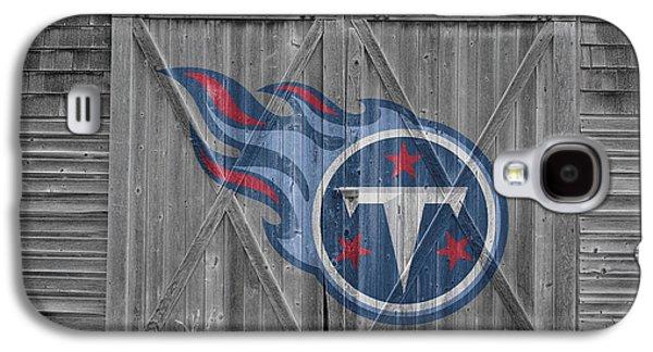 Tennessee Barn Galaxy S4 Cases - Tennessee Titans Galaxy S4 Case by Joe Hamilton
