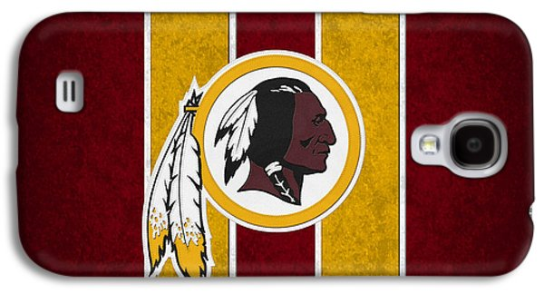 Nfl Galaxy S4 Cases - Washington Redskins Galaxy S4 Case by Joe Hamilton