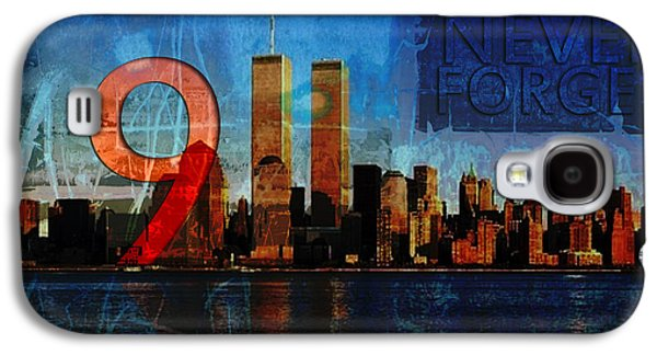 Terrorism Galaxy S4 Cases - 911 Never Forget Galaxy S4 Case by Anita Burgermeister