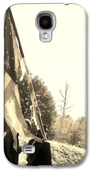 Historical Re-enactments Galaxy S4 Cases - A Battle Tested Union Flag Galaxy S4 Case by Jocelyn Stephenson