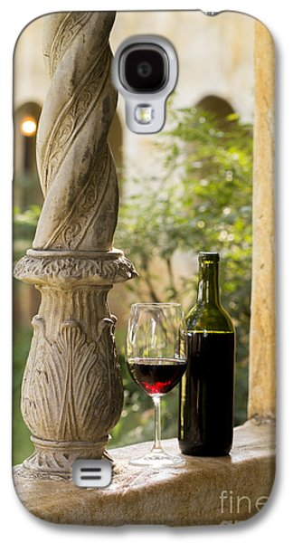 Wine Barrel Photographs Galaxy S4 Cases - A Beautiful Day for Wine Galaxy S4 Case by Jon Neidert