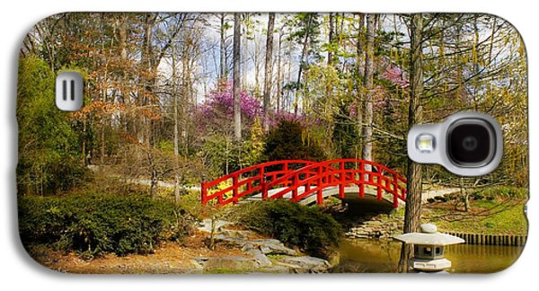 A Bridge To Spring Galaxy S4 Case by Benanne Stiens