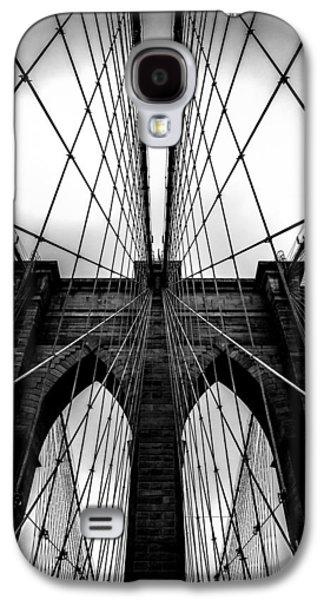 Symmetrical Galaxy S4 Cases - A Brooklyn Perspective Galaxy S4 Case by Az Jackson