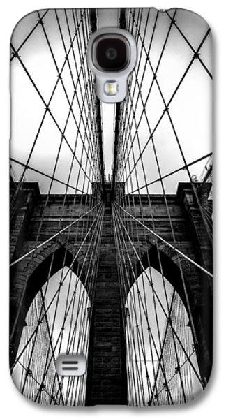 Skylines Photographs Galaxy S4 Cases - A Brooklyn Perspective Galaxy S4 Case by Az Jackson
