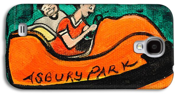 Asbury Park Paintings Galaxy S4 Cases - A Bumper Memory Galaxy S4 Case by Patricia Arroyo