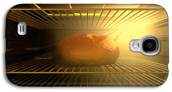 Appliance Galaxy S4 Cases - A Bun In The Oven Galaxy S4 Case by Allan Swart