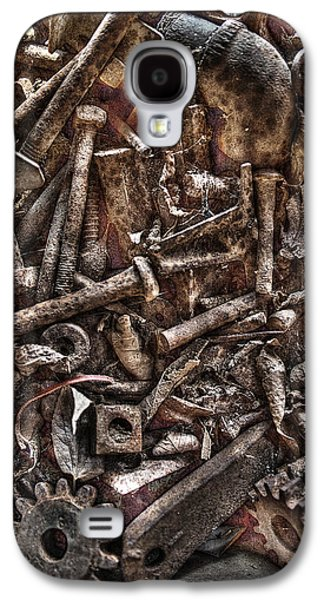 Machinery Galaxy S4 Cases - A Case of Curiosities Galaxy S4 Case by William Fields