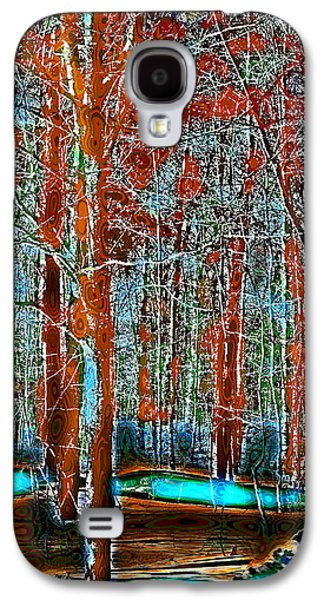 Surreal Landscape Galaxy S4 Cases - A Change in the Seasons V Galaxy S4 Case by David Patterson