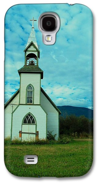 Old Relics Galaxy S4 Cases - A Church In British Columbia   Galaxy S4 Case by Jeff  Swan