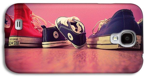 Sneaker Galaxy S4 Cases - A Converse Family Galaxy S4 Case by Mountain Dreams