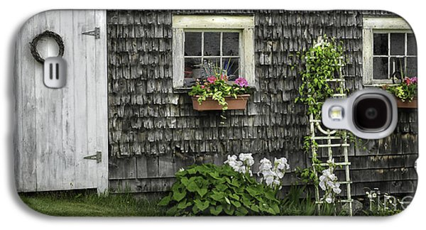 Mid-coast Maine Galaxy S4 Cases - A Cottage Garden - Essence of Mid Coast Maine Galaxy S4 Case by Thomas Schoeller