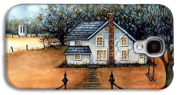 A Country Home Galaxy S4 Case by Janine Riley