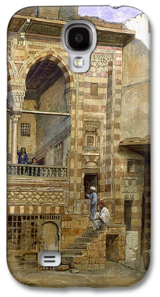 Northern Africa Galaxy S4 Cases - A Courtyard in Cairo Galaxy S4 Case by Frank Dillon