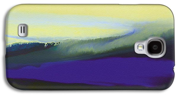 Surreal Landscape Drawings Galaxy S4 Cases - A Dark Momentum Galaxy S4 Case by Jeanette Charlebois