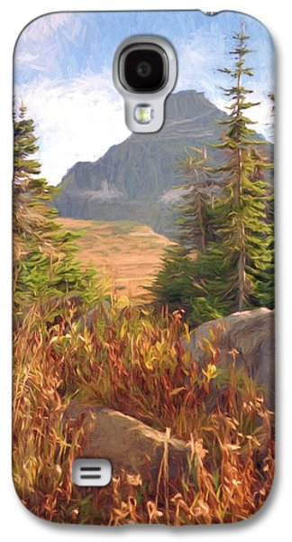 Photo Manipulation Galaxy S4 Cases - A Day At Glacier Galaxy S4 Case by Richard Rizzo