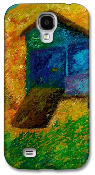 Beach Landscape Pastels Galaxy S4 Cases - A day at the beach Galaxy S4 Case by Jon Kittleson