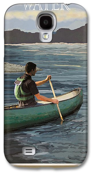 Canoeing Galaxy S4 Cases - A Day on the Water Possum Kingdom Galaxy S4 Case by Jim Sanders