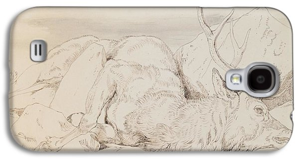 A Dead Stag Galaxy S4 Case by Sir Edwin Landseer
