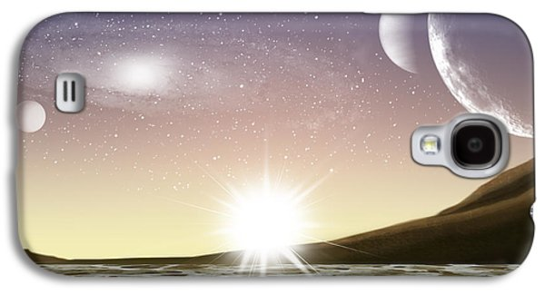 A Distant World Galaxy S4 Case by Brian Wallace