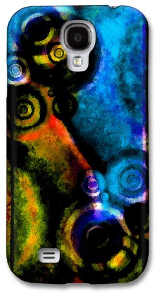 Coldplay Galaxy S4 Cases - A Drop In The Puddle 2 Galaxy S4 Case by Angelina Vick