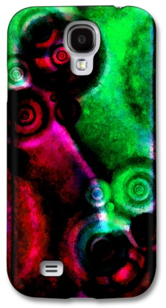 Coldplay Galaxy S4 Cases - A Drop In The Puddle 3 Galaxy S4 Case by Angelina Vick