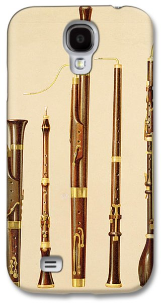 A Dulcian, An Oboe, A Bassoon Galaxy S4 Case by Alfred James Hipkins