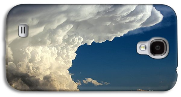 Abstract Forms Galaxy S4 Cases - A Face in the Clouds Galaxy S4 Case by Barbara Chichester