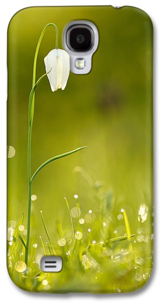 Meleagris Galaxy S4 Cases - A Fairies Place III _Snakes head fritillary Galaxy S4 Case by Roeselien Raimond