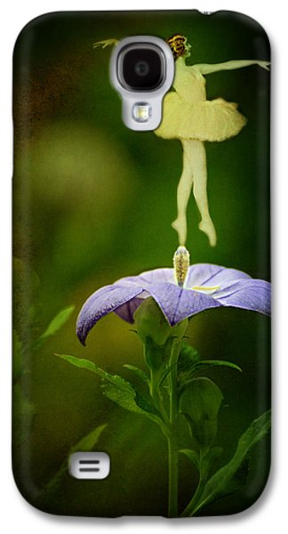 Balloon Flower Galaxy S4 Cases - A Fairy in the Garden Galaxy S4 Case by Rebecca Sherman
