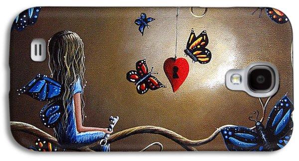 Midsummer Galaxy S4 Cases - A Fairys Heart Has Many Secrets Galaxy S4 Case by Shawna Erback