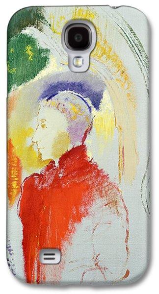 Half-length Galaxy S4 Cases - A Figure Galaxy S4 Case by Odilon Redon