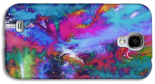Loose Style Digital Art Galaxy S4 Cases - A fluid storm Galaxy S4 Case by Keith Mills