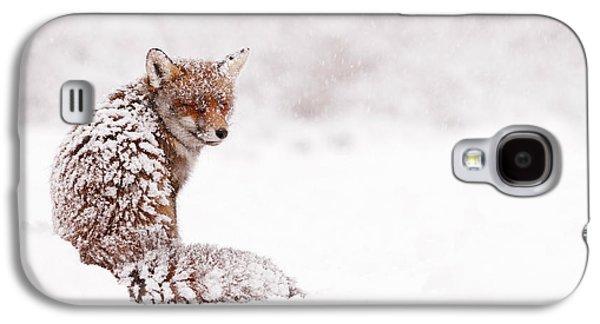 Red Fox Galaxy S4 Cases - A Fox Fantasy Galaxy S4 Case by Roeselien Raimond