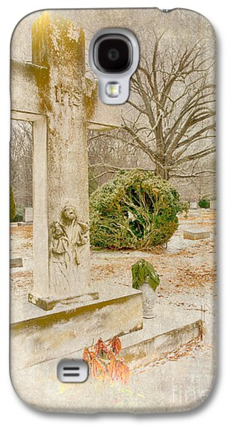 Headstones Paintings Galaxy S4 Cases - A Friend Missed Galaxy S4 Case by Dan Carmichael