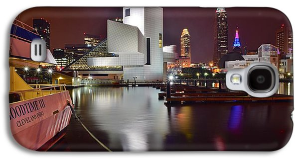 Slider Photographs Galaxy S4 Cases - A Glorious Cleveland Night Galaxy S4 Case by Frozen in Time Fine Art Photography