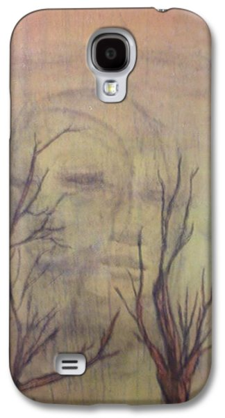 Mystical Landscape Mixed Media Galaxy S4 Cases - A Greater Depth Galaxy S4 Case by Laura Walker