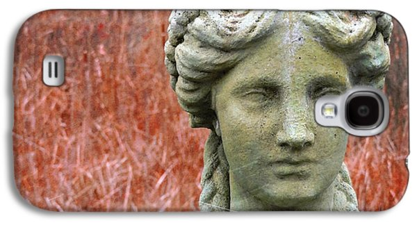 Statue Portrait Galaxy S4 Cases - A Head Above All Galaxy S4 Case by Marcia Lee Jones