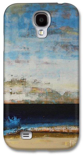 Aquatic Galaxy S4 Cases - A la Plage Cropped Galaxy S4 Case by Sean Hagan