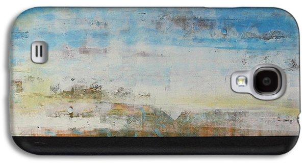 Nature Abstract Galaxy S4 Cases - A la Plage Galaxy S4 Case by Sean Hagan
